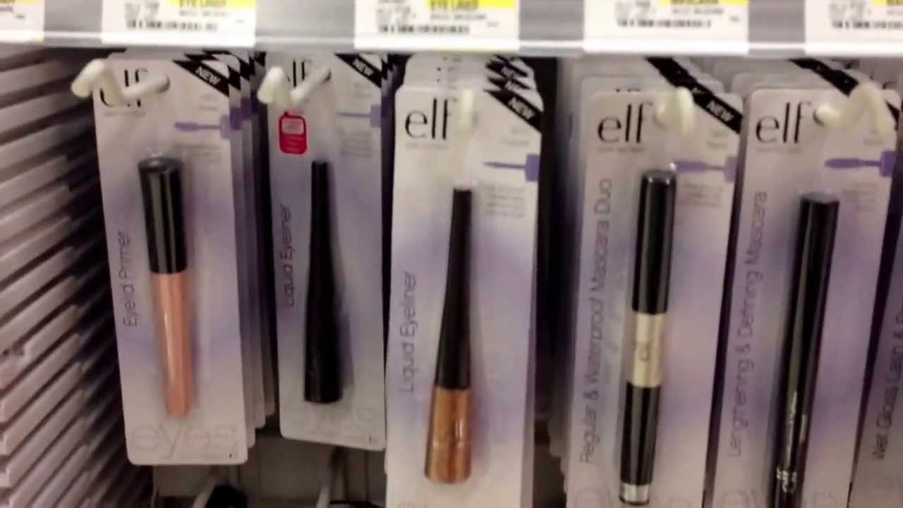 6145d8229f9 Where To Buy Cheap Makeup, ELF at Target - YouTube