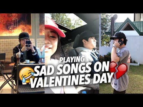 Download Youtube: SAD SONGS ON VALENTINES DAY (Teasing Single Bro) | Ranz and Niana