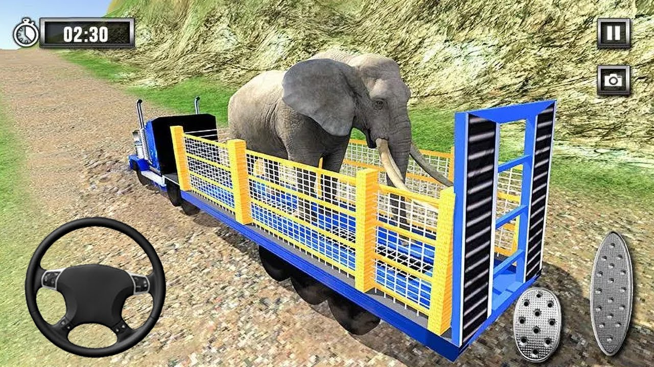 Wild Animal Zoo Transporter 3D Truck Driving (by Super Mobile Games) Android Gameplay [HD]
