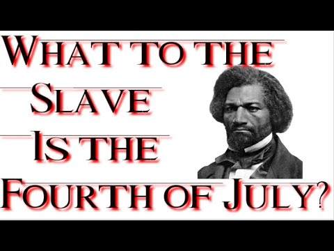 frederick douglass what to the slave is the fourth of july essay Frederick douglass, however, did realize the results were unsatisfactory the year was 1818 when frederick augustus washington bailey was born douglass questions the reason he is speaking on this fourth of july because he believes the declaration of independence has done nothing for him.