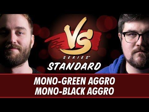 04/23/2018 - Ross Merriam VS. Brad Nelson: Mono-Green Aggro vs Mono-Black Aggro [Standard]