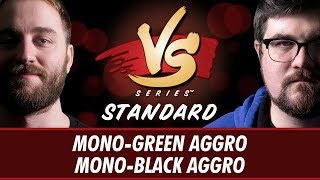 4/23/2018 - Ross Merriam VS. Brad Nelson: Mono-Green Aggro vs Mono-Black Aggro [Standard]