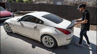 Rocket Bunny Duck Tail Install on Nissan 350z