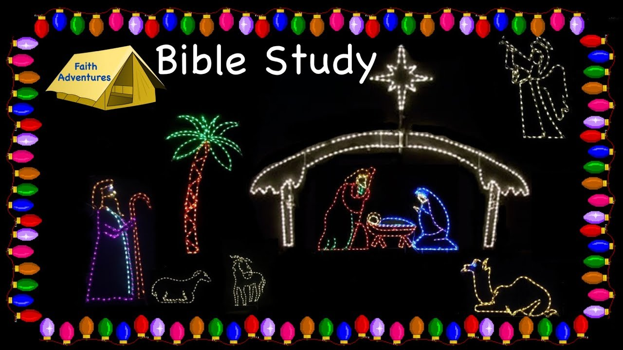 The Christmas Story Bible.The Christmas Story Retold Bible Study Faith Adventures