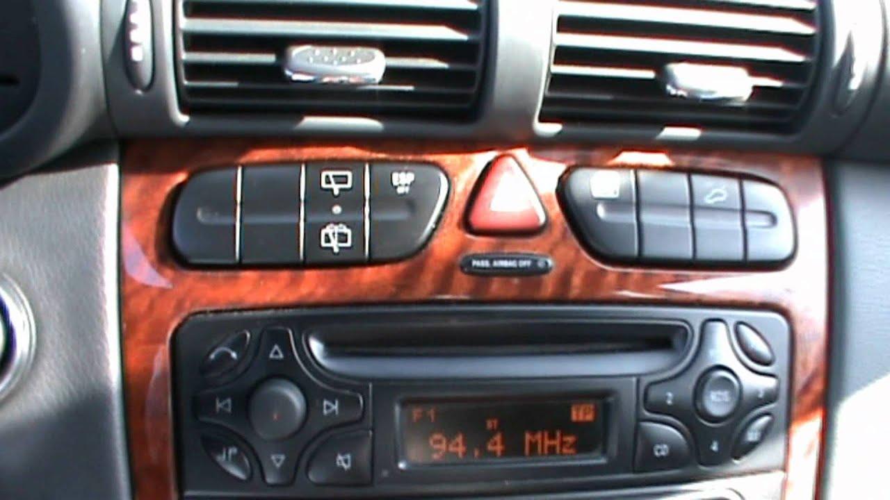 2002 Mercedes C200 Cdi Youtube