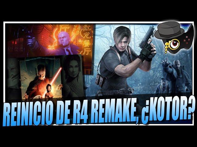 ¿NUEVO STARWARS KOTOR?, EL REINICIO DE RESIDENT EVIL 4 REMAKE, BLIZZARD TRAGA ESTUDIOS Y MAS...