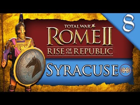SYRACUSE MARITIME EMPIRE! Total War ROME II: Rise of the Republic: Syracuse Campaign Gameplay #8