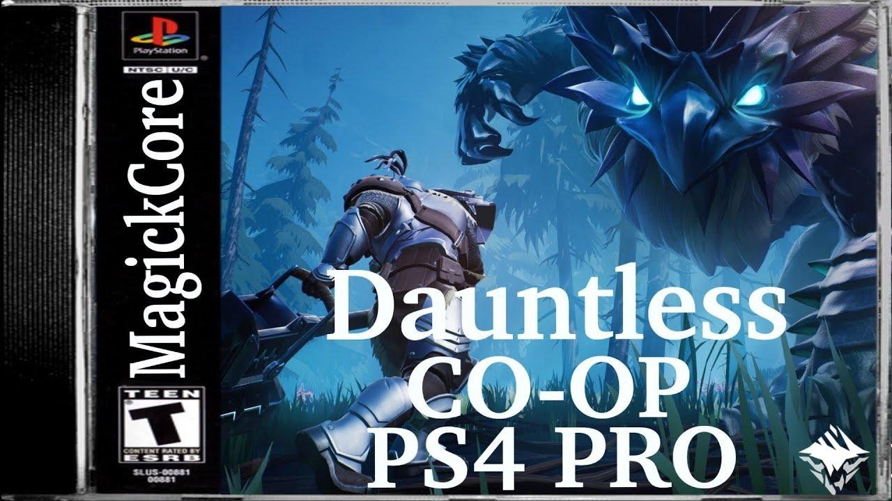 Dauntless: Co-op | Shrike [PS4 PRO] Part 1