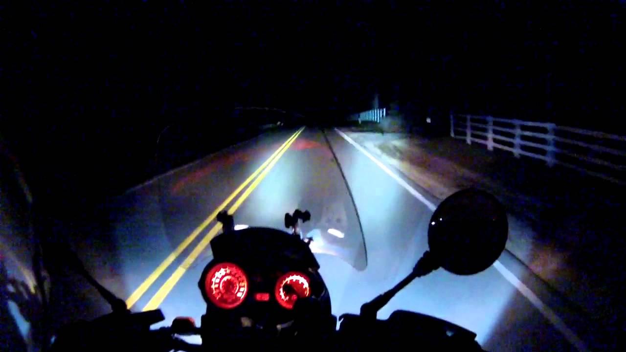 Cyclops Spot Lights On A Bmw F650gs Dakar Youtube