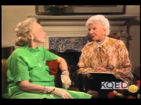 Lillian Gish, Mary Martin, 1981 TV Interview