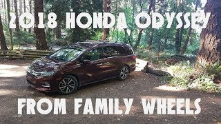 2018 Honda Odyssey review from Family Wheels