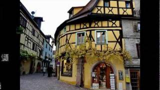 Village de Riquewihr Ville - Haut-Rhin -  ALSACE - FRANCE - Cat Stevens - Morning has Broken - HD/HQ