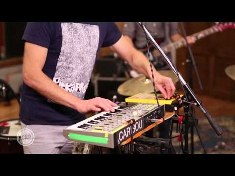 "Caribou performing ""Our Love"" Live at the Village on KCRW"