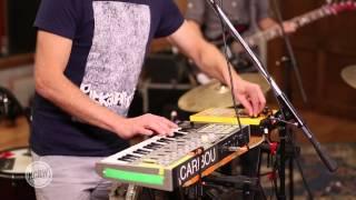 Caribou performing