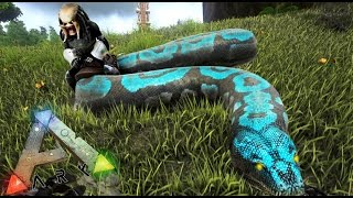 SERPIENTE GIGANTE - NUEVOS ANIMALES!! :D - ARK survival Evolved #30 - Nexxuz