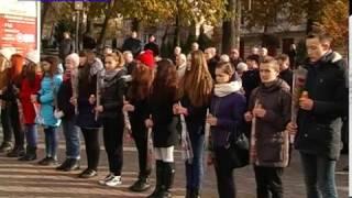 У Калуші відбулося віче пам'яті, приурочене 73-ій річниці загибелі учнів торговельної школи