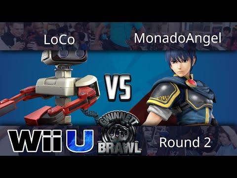 Gwinnet Brawl Sep 2017 - LoCo (ROB) vs MonadoAngel (Marth) - Smash 4 Round 2