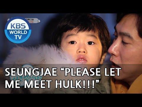 Seungjae  'Please let me meet Hulk!' [The Return of Superman/2019.01.06]