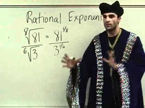 Algebra 2 - Rational Exponents