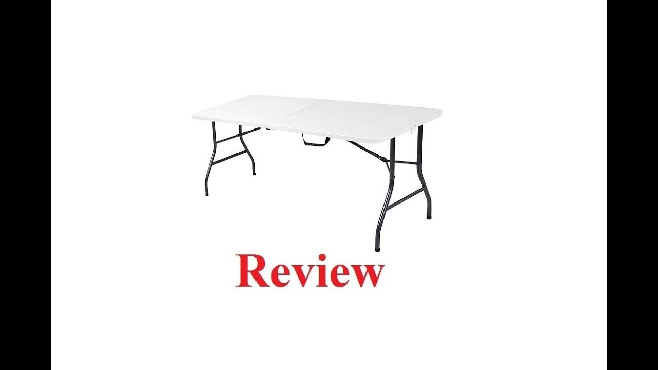 Mainstays 6 Foot Long Center Fold Table Review