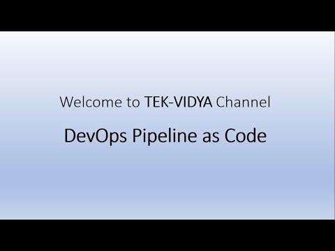 DevOps Pipeline as Code Jenkins