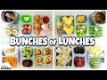 NO SANDWICHES! School LUNCH IDEAS for KIDS 🍎 Bunches of Lunches WEEK 3