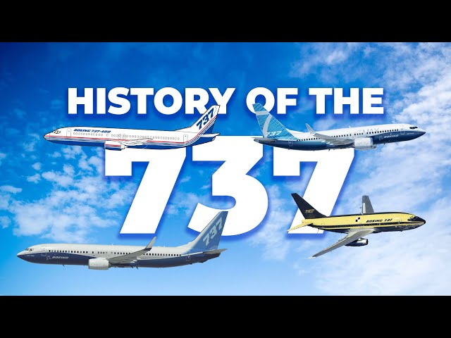 Short Documentary: The History Of The Boeing 737