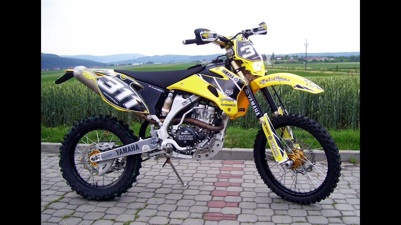 yamaha wr 250 f yellow edittion 2oo9 youtube. Black Bedroom Furniture Sets. Home Design Ideas
