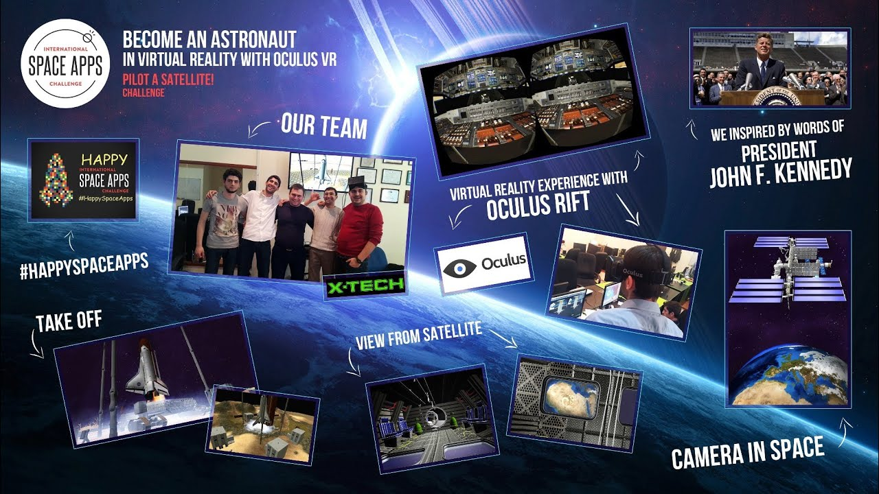 Become an Astronaut in Virtual Reality with Oculus VR for