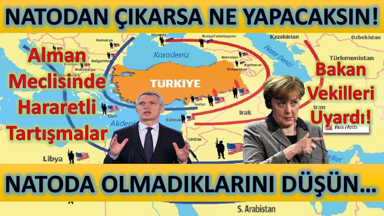 Alman Bakandan İtiraf! Türkiye NATO'dan Çıkarsa Ne Yapacaksın! Türk Gemisine