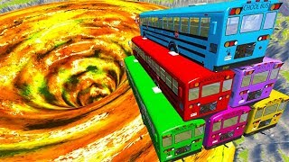 Top 10 School Bus Crashes You Can't Survive - BeamNG drive ( bmg )