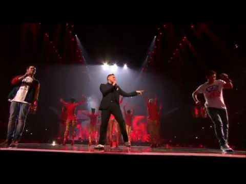 Olly Murs feat. Rizzle Kicks - Heart Skips A Beat (BRIT Awards 2012)