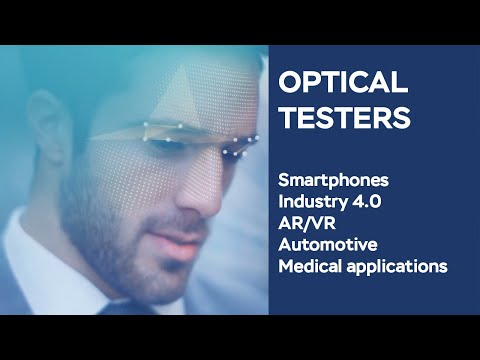 Testing DOEs & VCSELs - Accelerating the transition from 2D to 3D sensing with optical solutions
