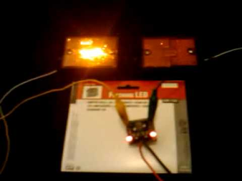 the 4 00 wig wag alternating flashing led circuit youtube rh youtube com