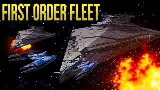 FIRST ORDER FLEET vs CIS DROID FLEET! - Star Wars EMPIRE AT WAR [Yoden Mod]