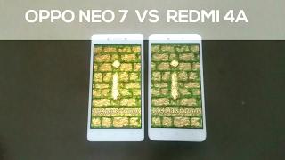 Redmi 4A vs Oppo Neo 7