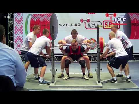 Daniel Worsley - 717.5kg 10th Place 83kg - IPF World Classic Powerlifting Championships 2017
