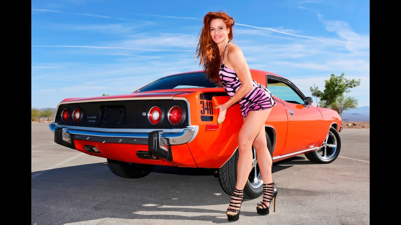 Cheater Girl Wallpaper 1973 Plymouth Cuda 340 Qtp Quick Time Cutout Exhausts