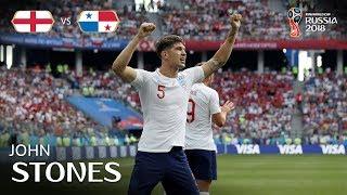 John STONES Goal -  England v Panama - MATCH 30