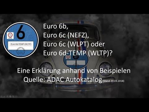 Euro 6 Norm.  Eine Erklärung Anhand Von Beispielen