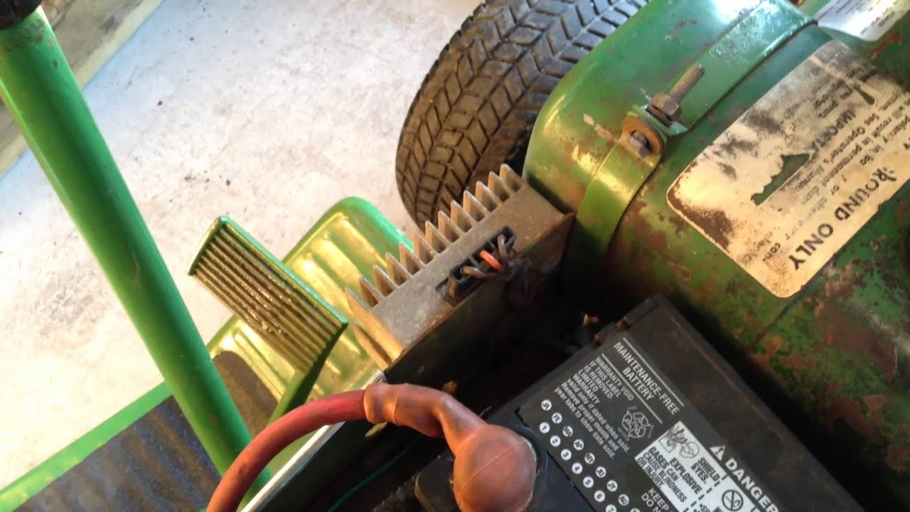 How To Adjust A Variator On 1968 John Deere 110 Youtube 112 Wiring Diagram