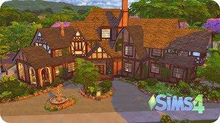 The Sims 4✮ Строим дом Сальваторе ✮Дневники Вампира (Salvatore House)