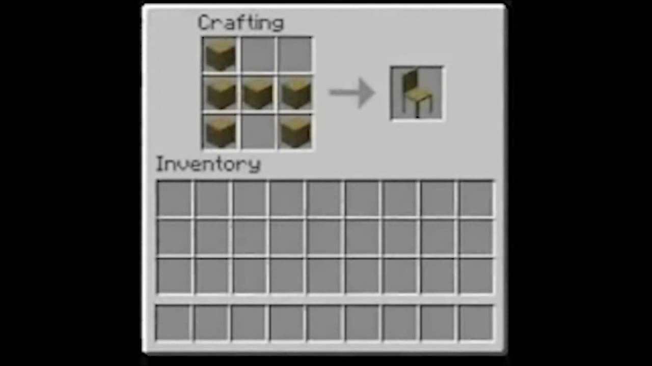 Minecraft Bed Crafting Recipe
