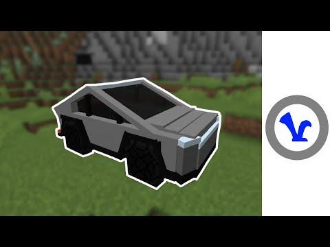 Cybertruck - In Minecraft!