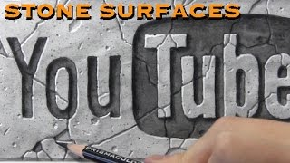 Drawing Time Lapse: Stone Surface