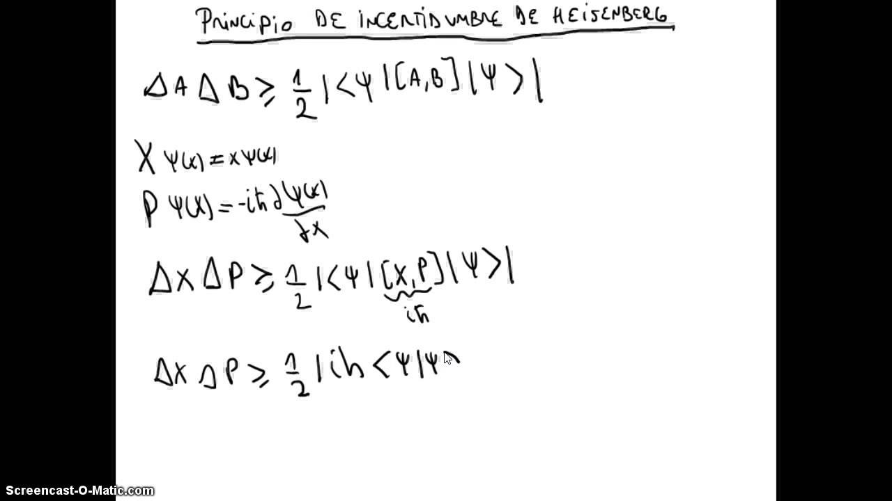 67 Introducción a la Mecánica Cuántica - Principio de