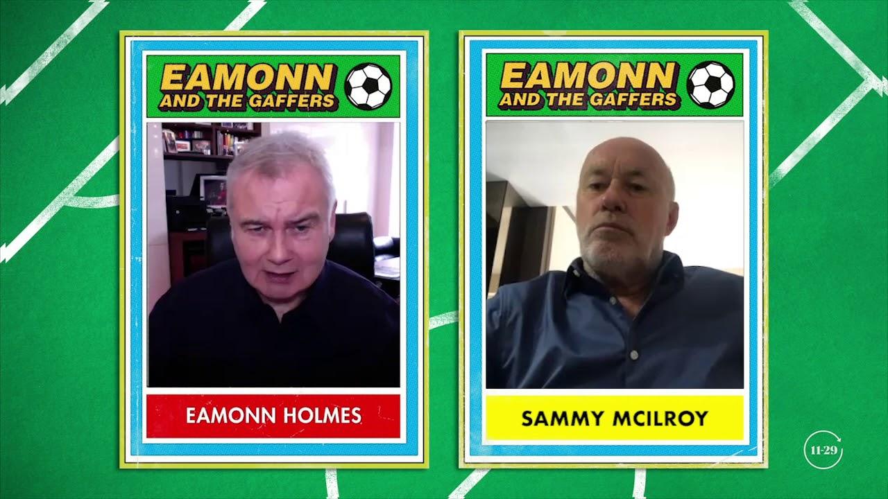 Sammy McIlroy, Ex Manchester United Midfielder - Eamonn and The Gaffers