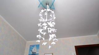 видео Чудо своими руками — бумажные бабочки