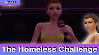 The Sims 4: Homeless Challenge // She is Depressed (Part 13)