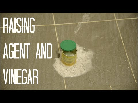 Experimenting With Raising Agent And Vinegar